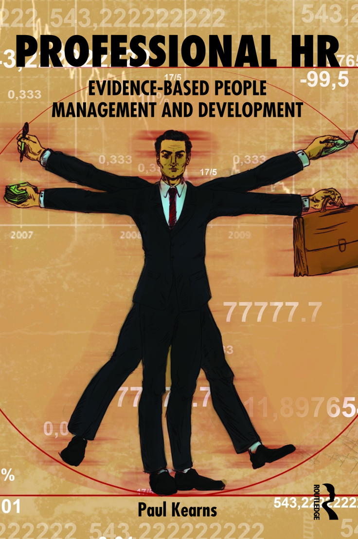 Book cover Professional HR. Evidence-Based People Management & Development