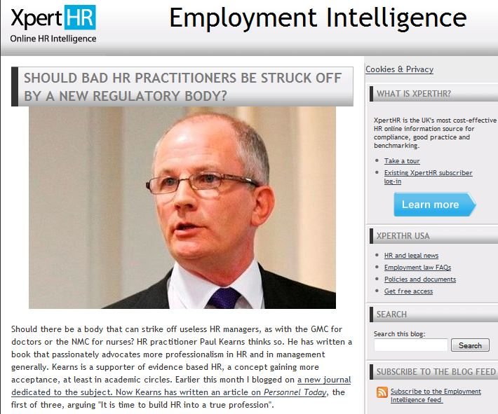 Should bad HP practitioners be struck off Xpert HR