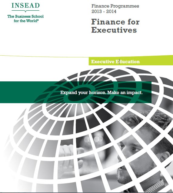 Insead finance for executives