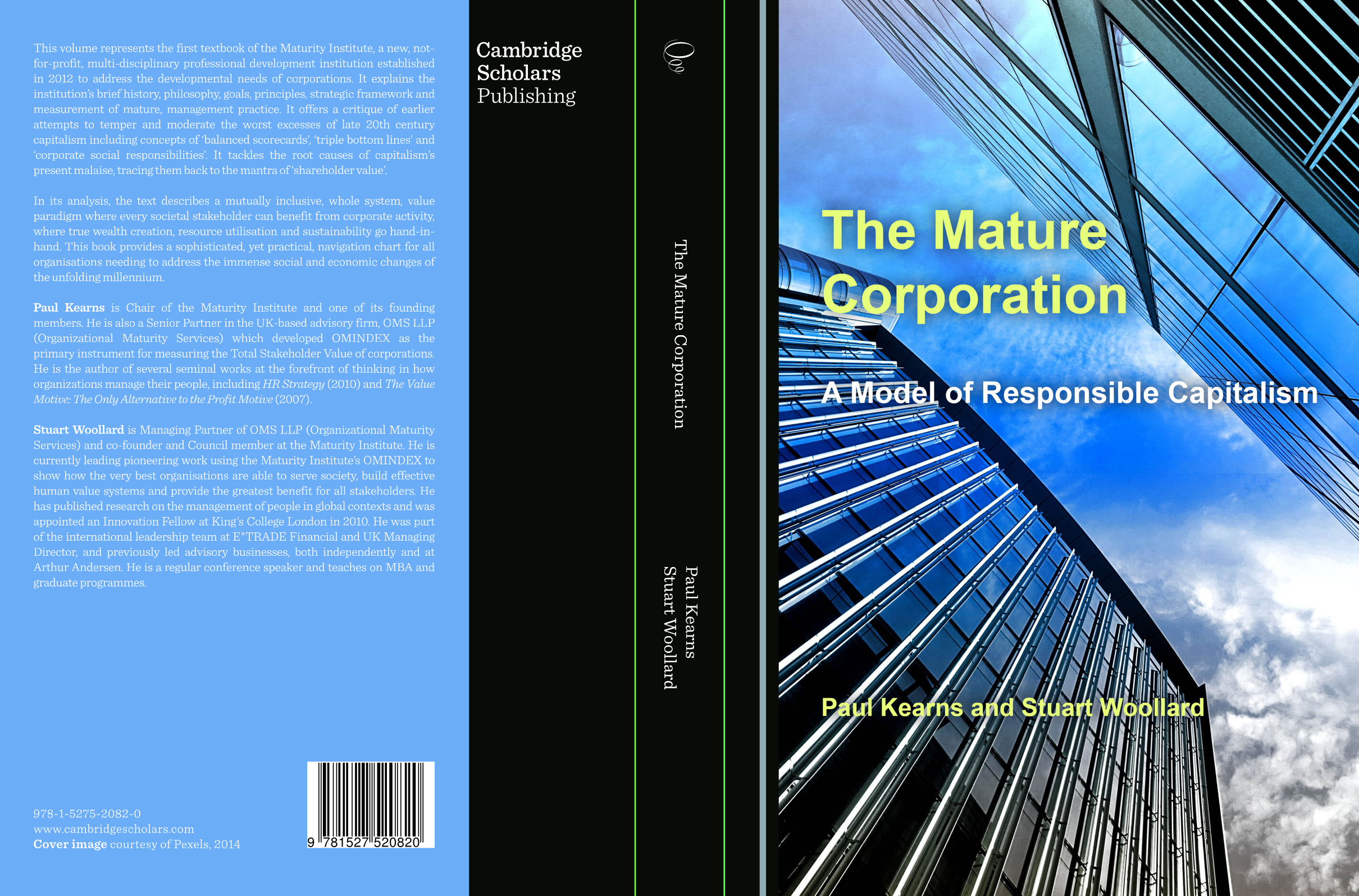 MI's first textbook: The Mature Corporation – a Model of